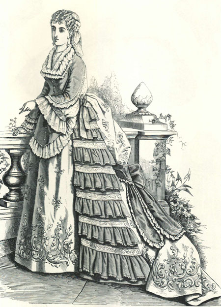 evening dress_Pompadour waist_HB 1872