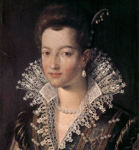 Santi_di_Tito_-_Portrait_of_the_Young_Maria_de'_Medici_-_WGA22719