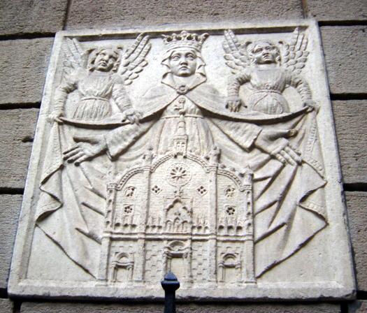 Milano_-_Museo_Bagatti_Valsecchi_-_Madonna_con_facciata_antica_del_Duomo_-_Foto_Giovanni_Dall'Orto_-_30-July-2003
