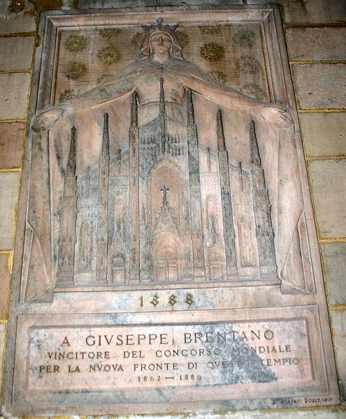 495px-IMG_4546_Milano_-_Duomo_-_Monumento_a_Giuseppe_Brentano_-_Foto_di_Giovanni_Dall'Orto_-_28-jan-2007