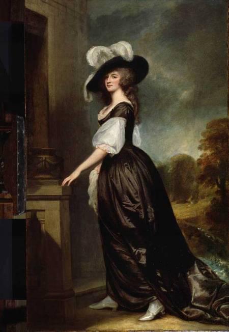 Goerge Romney, Charlotte Lady Milnes 1788