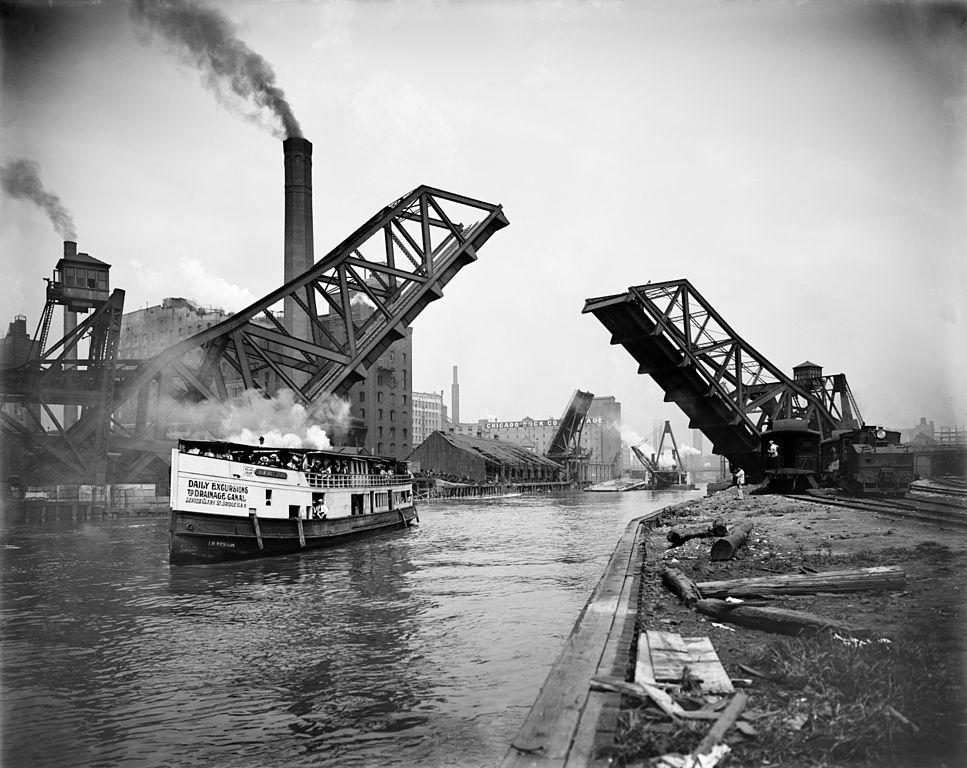 12th_Street_bascule_bridge,_Chicago,_Illinois,_ca._1905