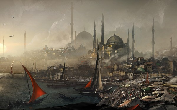 video-games-assassins-creed-cityscapes-fantasy-art-turkey-artwork-istanbul-constantinople-1920x1200