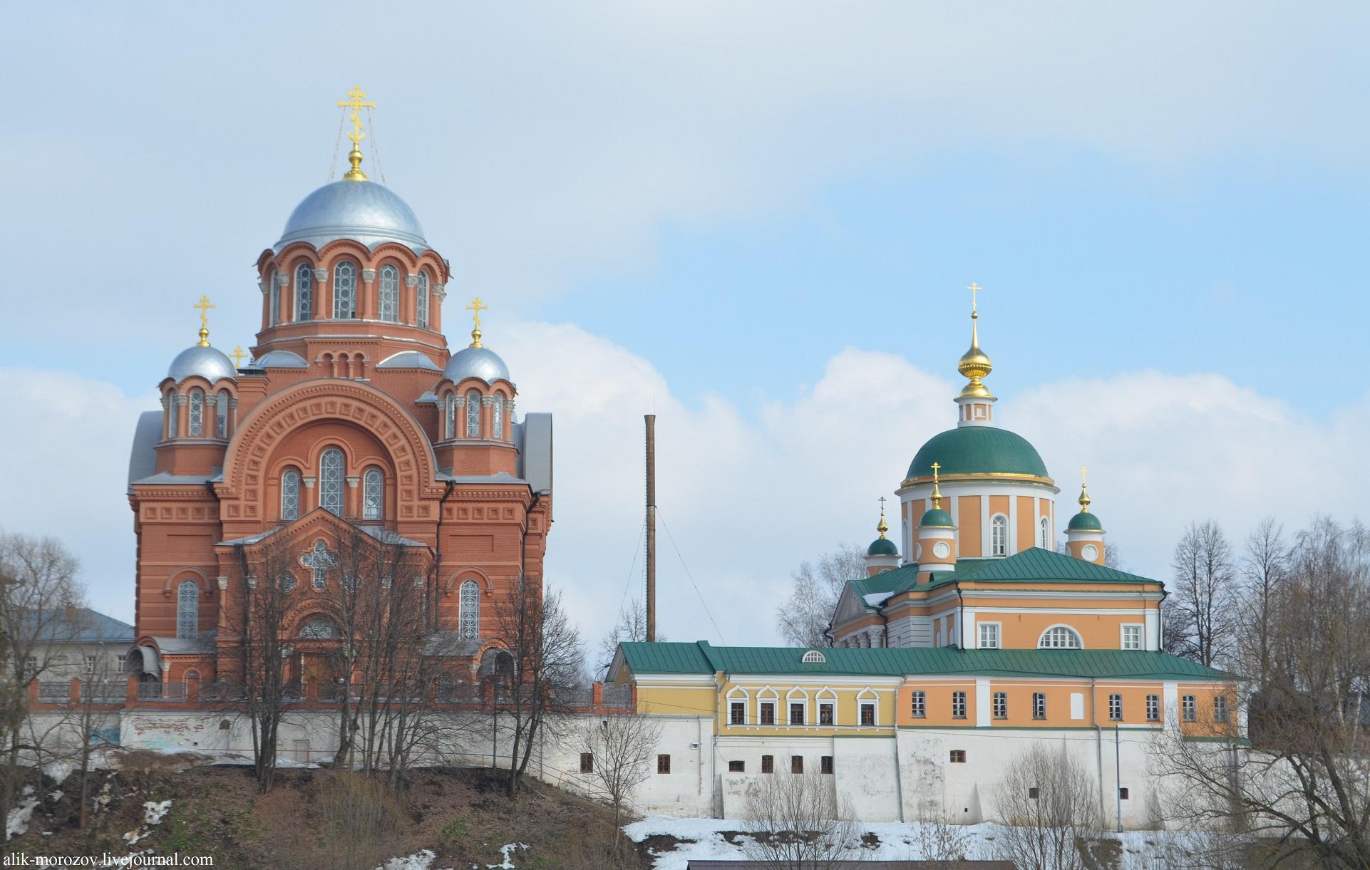 Покровский Хотьков женский монастырь. Фото