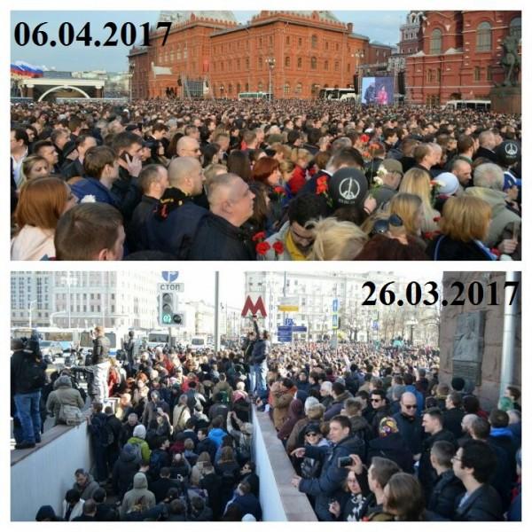 Митинги Москвы