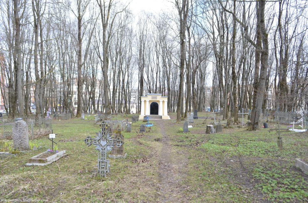 Старинное лютеранское кладбище в Смоленске