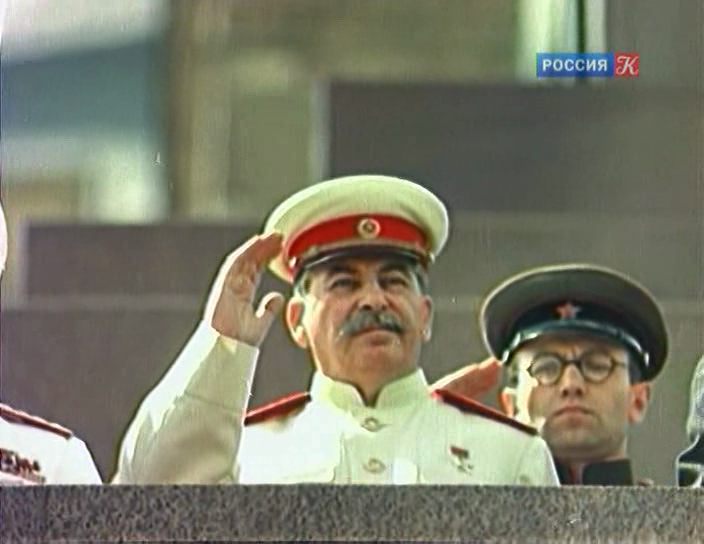 парад физкультурников 12 августа 1945 года в Москве