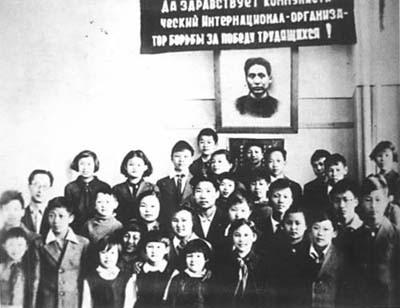 Сережа и Коля с группой старших воспитанников в Иваново