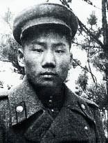 Сергей Мао в форме советского лейтенанта