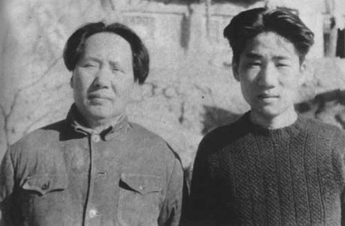 Мао Цзэдун и Мао Аньин
