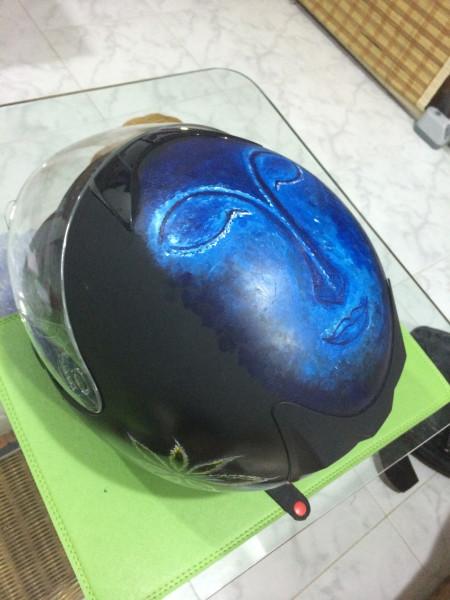Шлем с буддой