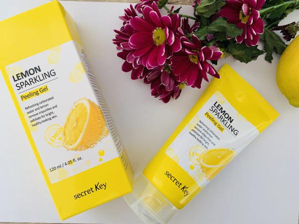 Secret Key, Лимонный игристый гель для пилинга