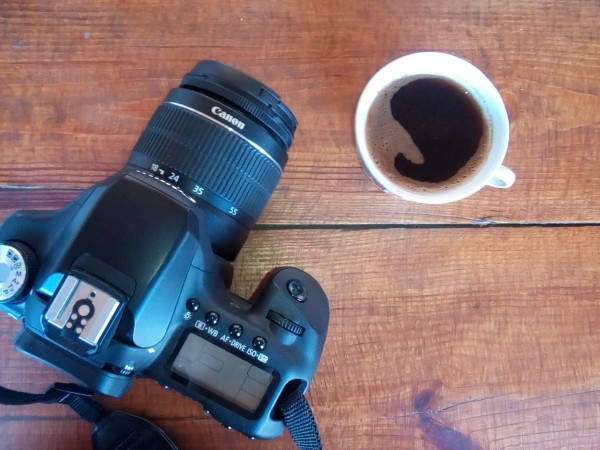 камера и кофе // camera and coffee