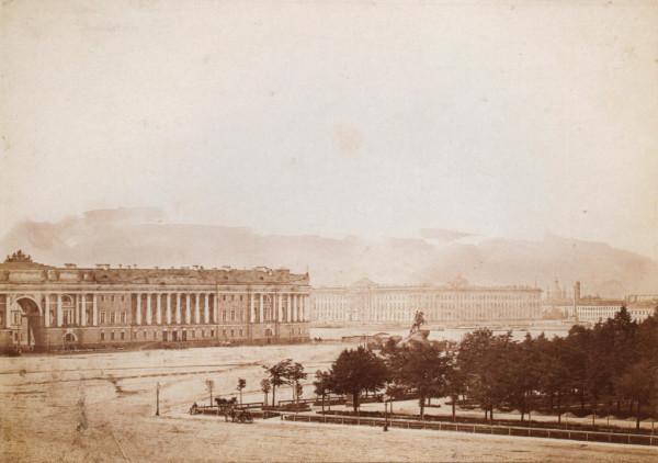 1.Сенатская площадь, вторая половина 1870-х