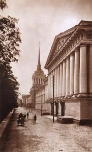Адмиралтейский бульвар,1880-е