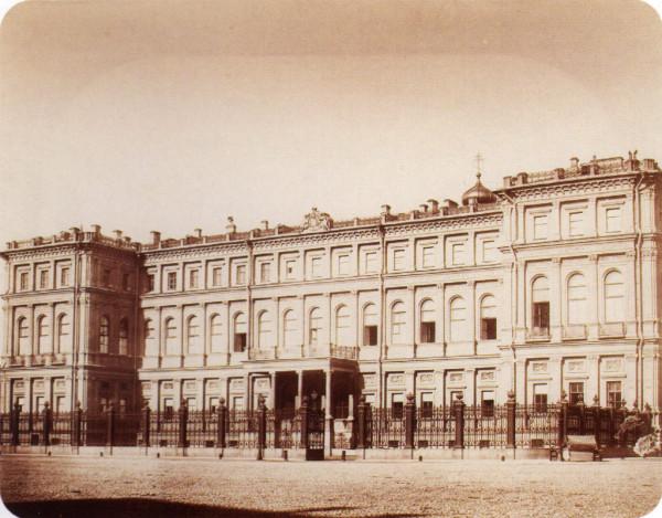 Дворец в. к. Николая Николаевича,1850-1860