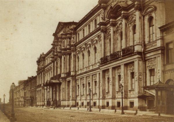 Дворец на Дворцовой набережной 1880-е