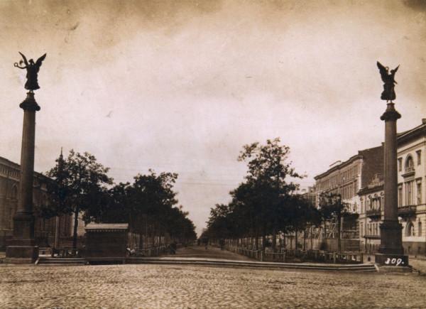 Конногвардейский бульвар,1870