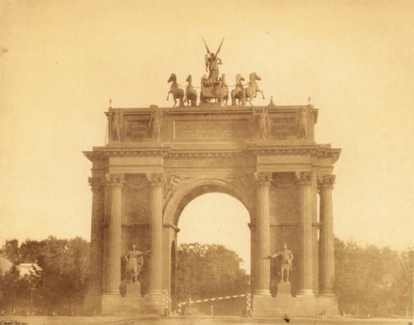 Нарвские триумфальные ворота,1857