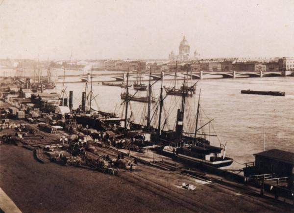 Николаевский мост,1860-1870