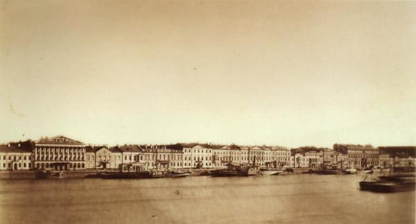 Панорама Английской набережной,1860-1870