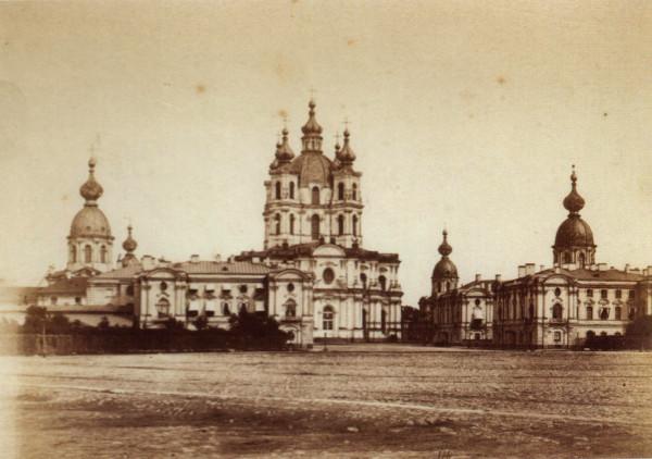 Смольный монастырь, 1880-е