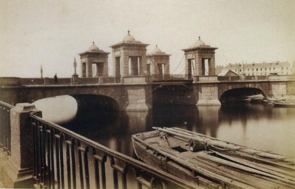 Старо-Калинкин мост через Фонтанку,1880-е