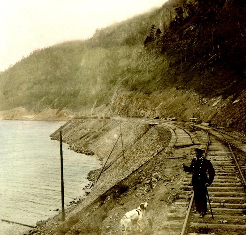 Кругобайкальская железная дорога.
