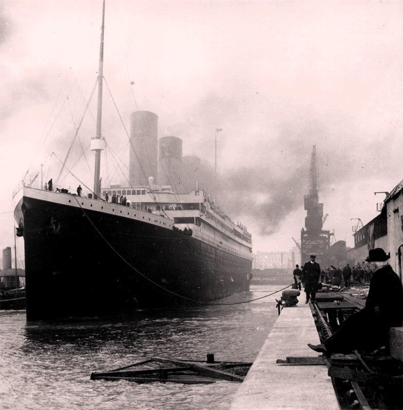 Отплытие Титаника