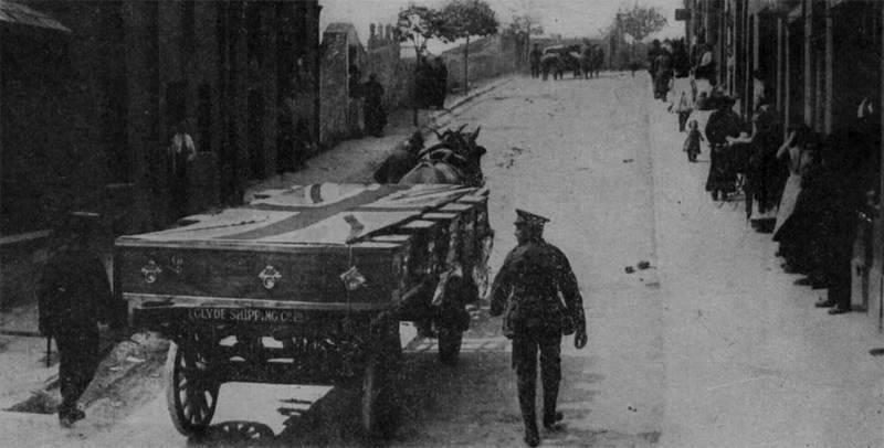 Гробы с Лузитании