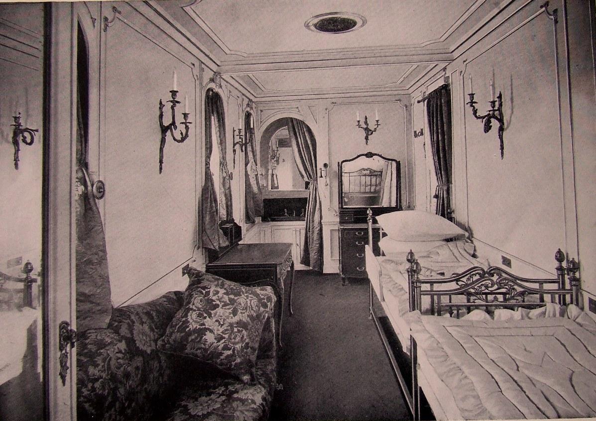 Спальня 1-го класса