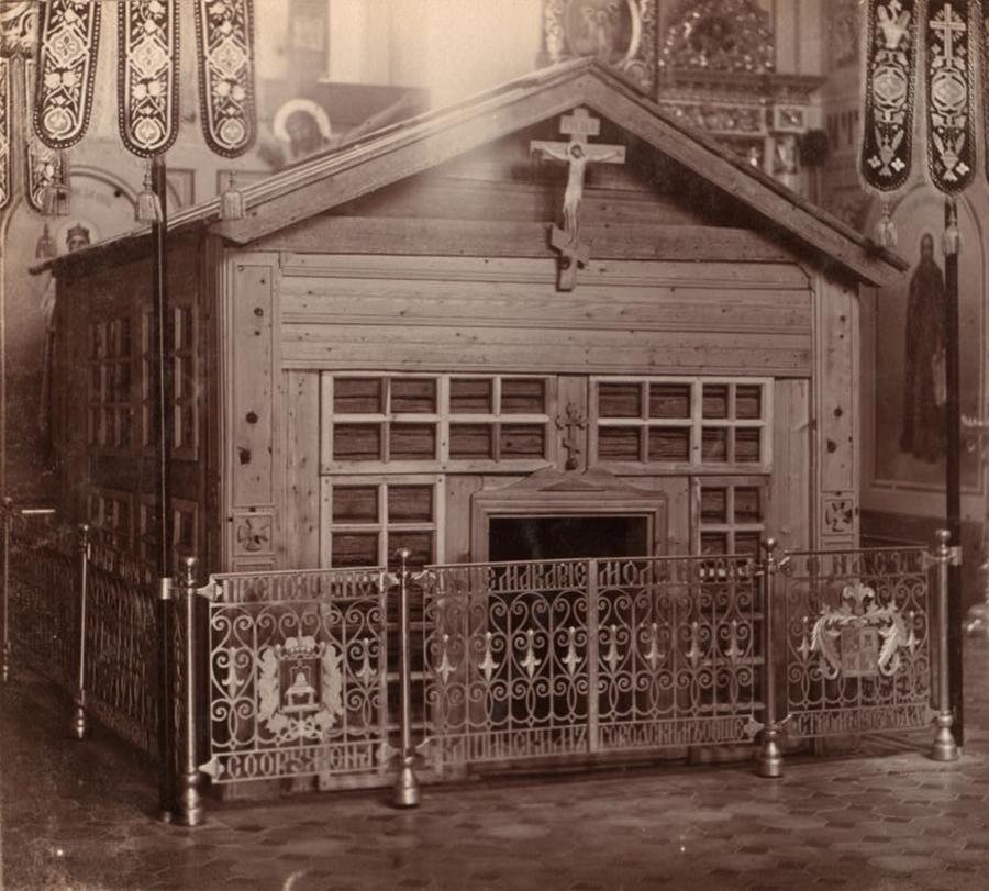 С. М. Прокудин-Горский. Келия Преподобного Макария в Клобуковском монастыре. Кашин. 1910 год