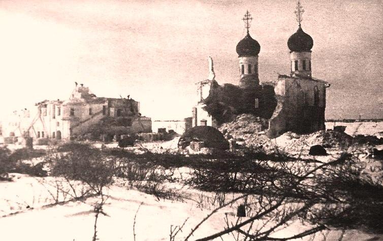 Разрушение Троицкого собора