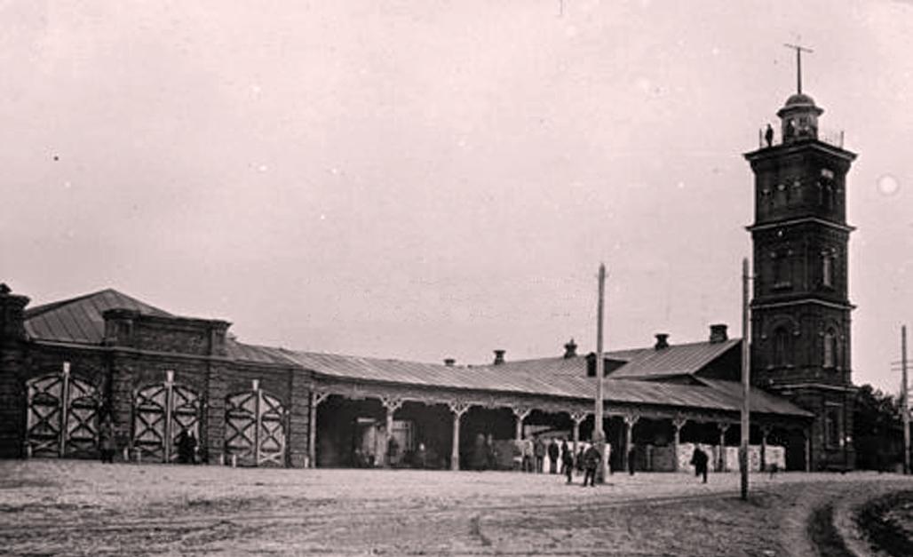 Троицкая площадь и Каланча