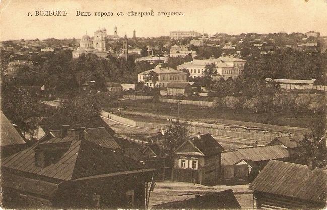Вид города с северной стороны