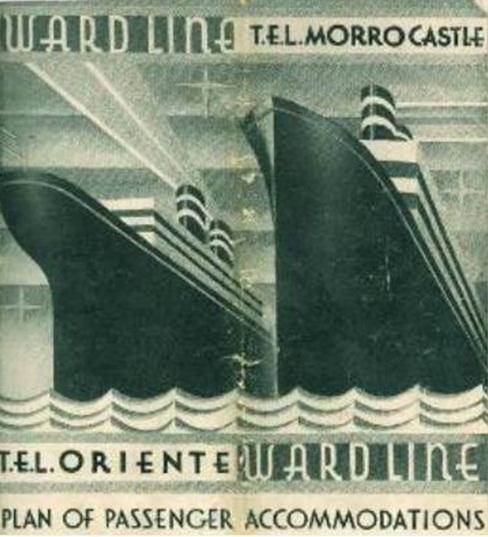 Рекламный проспект Morro Castle и компании Ward line