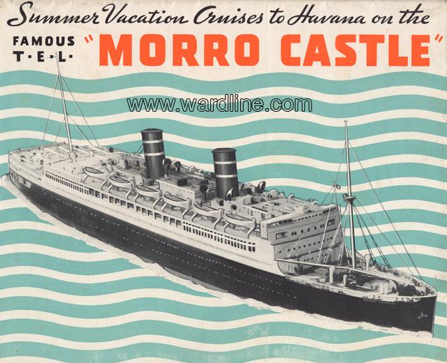 Morro Castle Cruise Brochure, Circa 1933