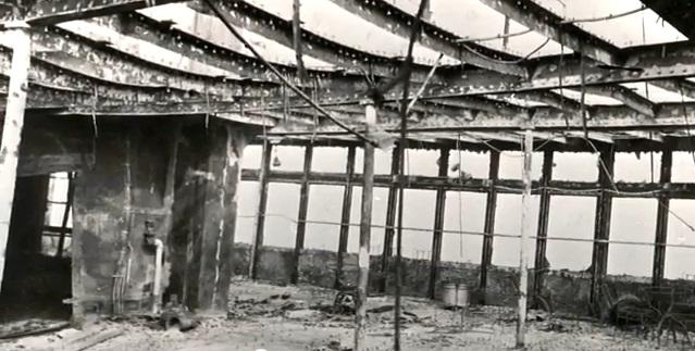 Салон Morro Castle после пожара