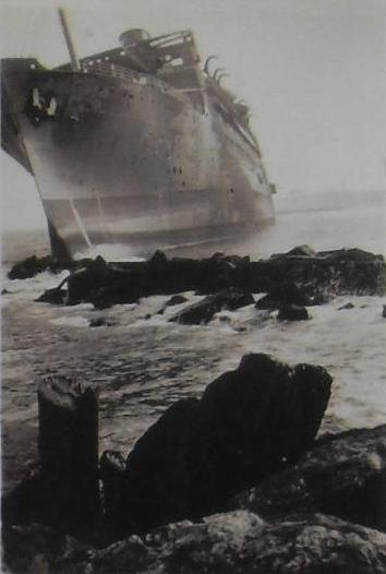 ASBURY PARK new jersey 1934 shipwreck 1930s MORRO CASTLE 3