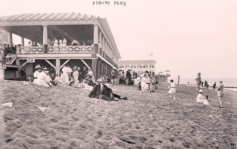 Asbury Park, New Jersey Beach
