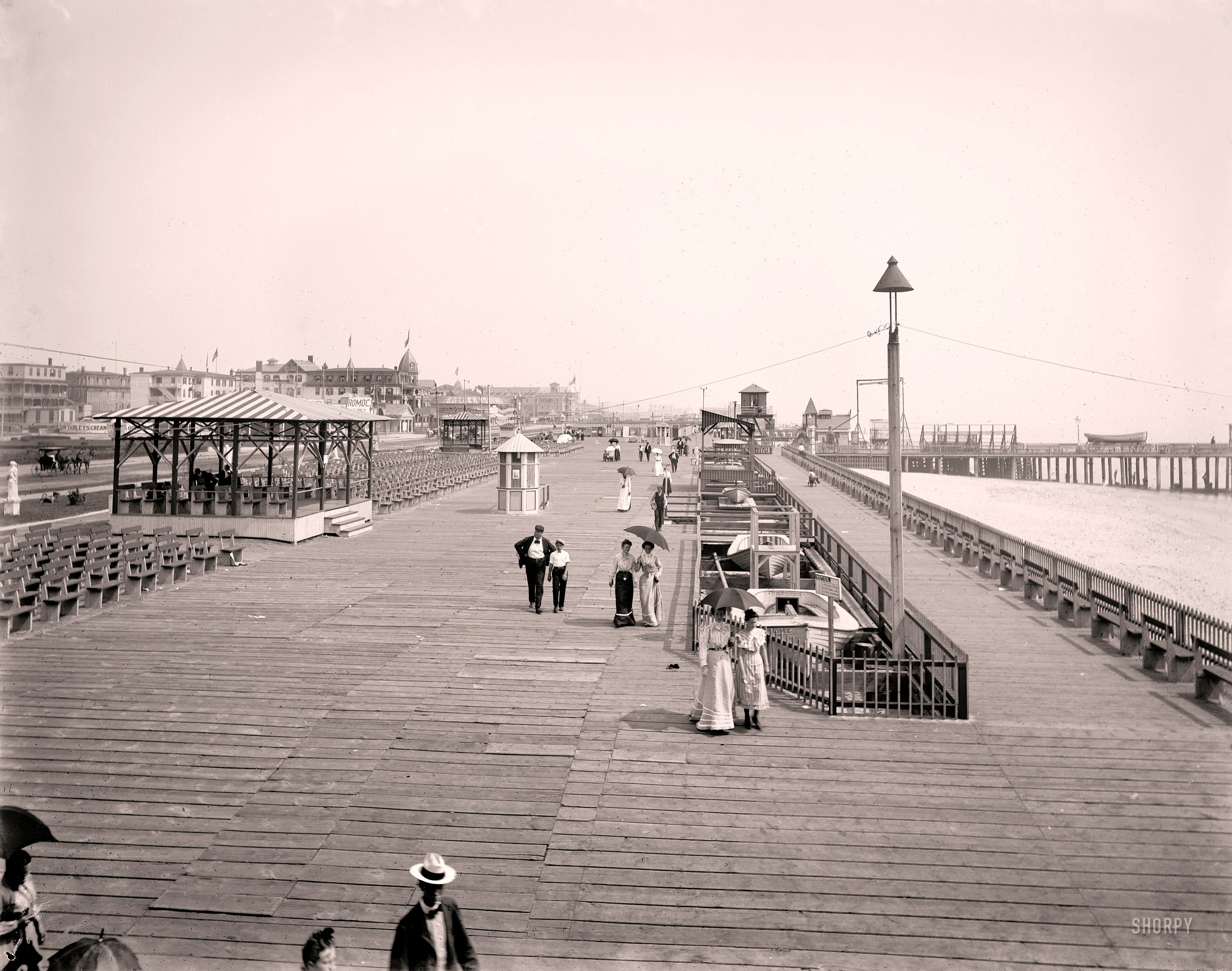 Boardwalk in Asbury park