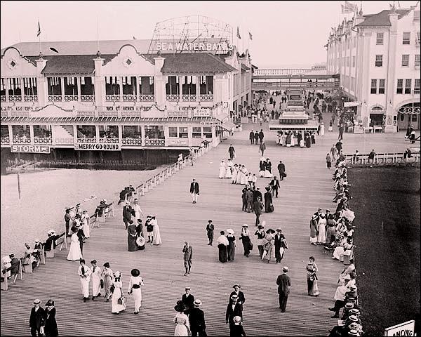 Asbury Park  Boardwalk .