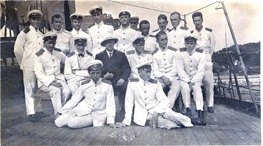Русские офицеры в Бизерте