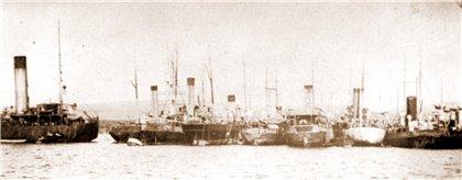 Вспомогательные корабли в Бизерте
