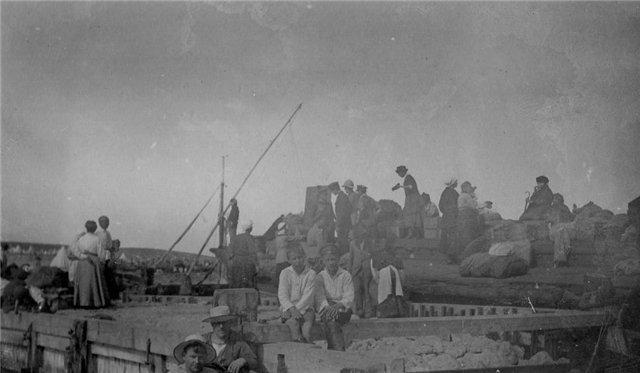 Русские беженцы на Лемнос