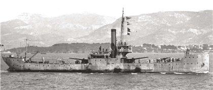 Французская канонерская лодка «Таюр»
