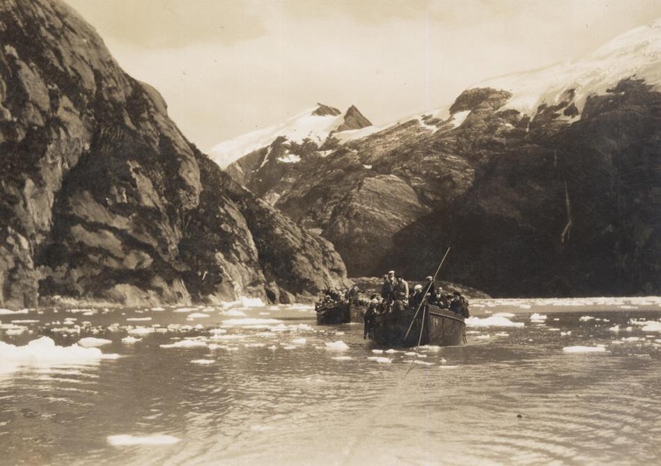 На леднике Гарибальби