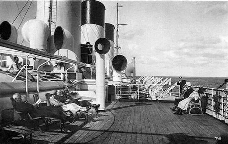Cap Polonio. На палубе.
