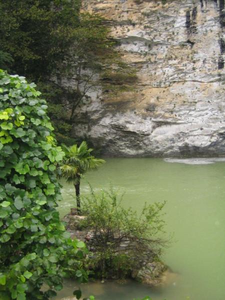 гагры озеро рица