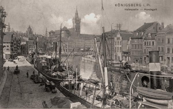 На набережной Кенигсберга